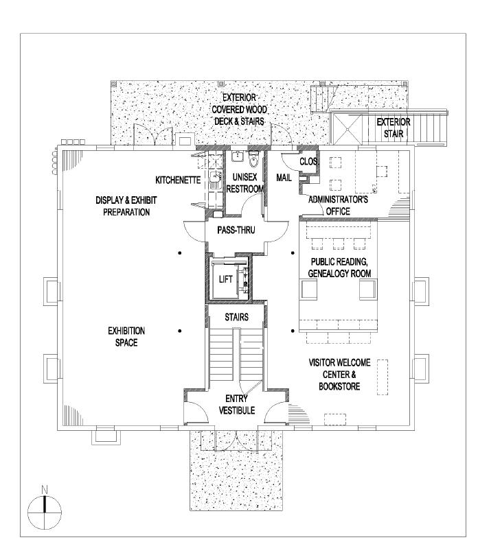 Old school house main level for Old school house plans